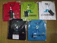 5 PCS heat LINDEBERG golf brand and sales 100% cotton t-shirts men's short sleeve T-shirt, mix orders