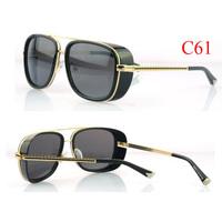 2013 IRON MAN 3 Sunglasses men brand designer Matsuda Model 3023 Metal Frame goggles For Sports with Retail Case Free Shipping