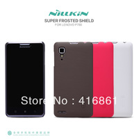 New product ! NILLKIN super frosted shield case for Lenovo P780 free shipping + screen protector + retailed package