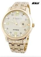 Free Shipping Fashion Luxury Design Brand JULIUSS Men Full Steel Watch,Calendar Quartz  Luxury Simple Style JAH-010 High Quality
