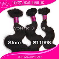 brazillian hair mix length 4pcs lot 1b brazilian hair body wave braiding hair bulk without weft