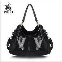 Free shipping Women's handbag one shoulder bag crossbody bag women's handbag Snake skin pattern embossing bag