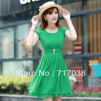 South Korea in the summer of 2013 B couture women dress is free shipping