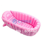 New Inflatable Baby Tub/Soft Inflatable Baby Bathtub/Eco-friendly Portable Swimming Pool 2Colors 14993 14992(China (Mainland))