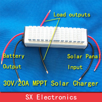 Real MPPT Solar Charge Controller Improve current 30%  40V18A  charge all kinds battery