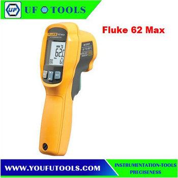 Fluke 62 MAX Handheld Dual Laser IR Infrared Thermometer Gun -30 to 650