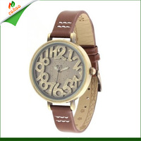 Free shipping 2013 Handmade POLYMER CLAY Korea Mini Diamond watch 3D vintage watch women cartoon watches H362