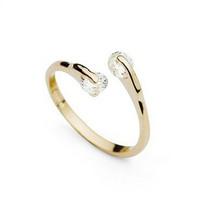 Fashion Design  18K Gold Plated Wedding Ring  Full Sizes Wholesale kuniu J1341