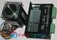 Leadshine 3-phase Stepper Motor Kit 3DM583 + 573S09 1.5 N.m New