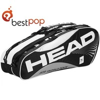 High quality tennis bags and tennis racquet bag three color for 6 racket,free shipping
