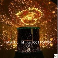 1Pc New Christmas Gift,Night Light Cosmos Projector Stars Constellation Lamp,Projecting Lamp + Free Shipping