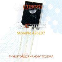 C106MG THYRISTOR SCR 4A 600V TO225AA 106 C106 10pcs