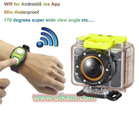 2013 New GoPro Style Full HD 1080P Wifi Sports Camera, Extreme Action Camcorder Wide Angle 170, 60m Waterproof As Good As Go Pro