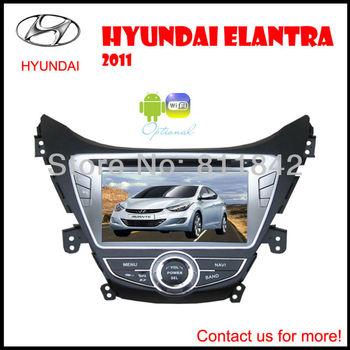 8'' 2012 2011 Hyundai Elantra Car DVD Player , AutoRadio,GPS,Navi,Multimedia,Radio,Ipod,Free camera+Free map