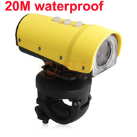 Free Shipping Full HD 1080P 20 Meters Underwater Sports Digital Camera Recorder Waterproof+Night Vision+HDMI