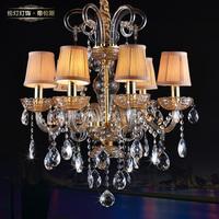 Lamp lighting high quality luxury SWAROVSKI crystal pendant light bedroom lamp lamps 80357 (6 lights)