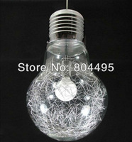 Dia 30cm Modern Creative Glass Bulb pendant light Fashion European lamp for hallway+free shipping, also for wholesale