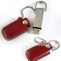 Free Shipping NEW Leather 2GB 4GB 8GB 16GB 32GB 64GB USB 2.0 Memory flash disk Flash Drive Drop shipping
