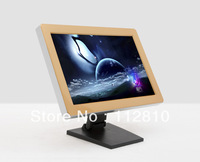 High Density 19 Inches Infrared Desktop Fold stand touch screen , viewing angle adjustable , no need fixed to desk with screws