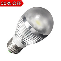 E27 6W Energy Saving Warm White LED Light Bulb Lamp Lighting Cool Warm White AC85V - 265V