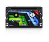 Free Shipping  New 6.2 inch Car DVD Player High Resolution GPS/Bluetooth/USB/FM/AM Steering wheel Control Backlight Changable