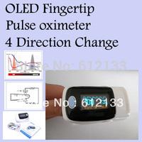 10pcs/ lot Fingertip Pulse Oximeter Oxymeter SPO2 Oxygen Monitor OLED Display Sound