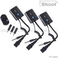 30m Wireless Radio Flash Trigger PT-04 for Studio Flash Light/Strobe/Monolight-3Receiver