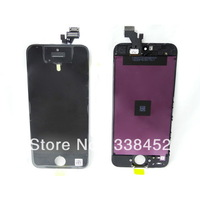 Retail, Original New lcd Touch Screen Digitizer Assembly combo For Iphone 5 5g generation black or white, Free Shipping
