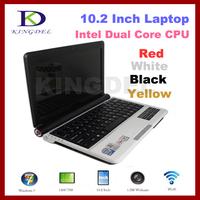 "Intel Atom D2500 1.86Ghz 4GB/320GB 10.2"" Mini Notebook laptop Win7, WiFi, Webcam"