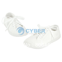 New Women's Spring, Summer, Autumn Casual Solid Color Shoes Thin Canvas Shoes White Single Shoes 5Sizes 16825