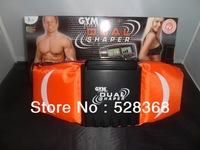Free Shipping gym form dual shaper Electrode vibration belt massage, slimming belt double function