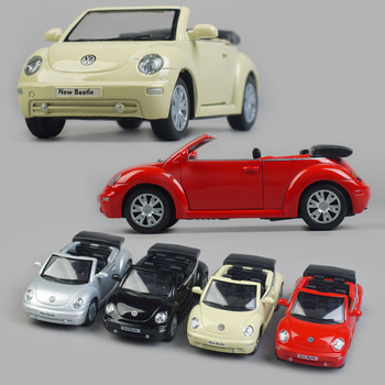 Toy car model alloy car models volkswagen beetle cabriolet WARRIOR decoration collection