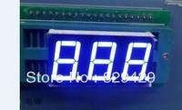 0.56 inch three blue LED 7 Segment 5361AX (CC) 5361BX (CA)  10pcs/lot Free shipping 3 digit