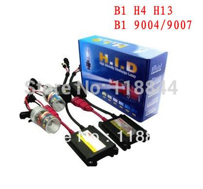 H4-3 H/L Hi/Low one xenon moving bulb HID xenon KIT SET 35W (Bi-xenon hid conversion kit) Freeshipping by China post(China (Mainland))
