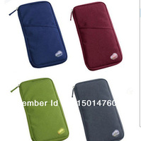 Travel portable multi-purpose bag bank card mobile phone package bag passport