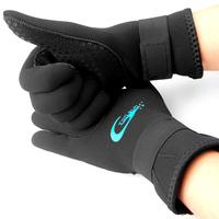 3mm diving gloves neoprene meterial stab slip resistant anti-scratch Velcro wrist snorkeling equipment supplies