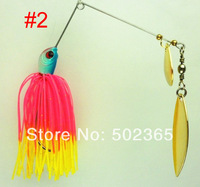 2014 Sale Carp Jig 40pcs By Epacket 19.8g/0.7oz Spinner Baits, Fishing Spoons Fresh Water Shallow Bass Walleye Minnow Bait Lures