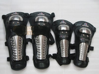 Titanium alloy flanchard kneepad elbow 4 automobile race flanchard motorcycle protective gear off-road flanchard ride