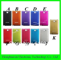 20PCS/LOT DHL free shipping For Samsung Galaxy Note I9220 SIV Back Cover Flip,Battery Housing Leather Case  11 colors