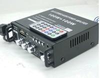 Car / home dual-use USB card playing music + Radio AV-153 amplifier
