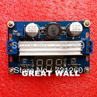 DC DC-DC 3~35V to 3.5~35V LTC1871 Booster step up Step-up module Converter Regulated Power Supply+VoltMeter