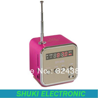Fashion New TD-V26 Portable Mini Speaker With FM radio Multi-Speaker TF Card Digital speaker