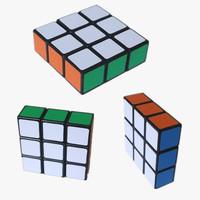 2014 Hot new children toys 3x3x1 1x3x3 magic cube best gifts for kids boys girls