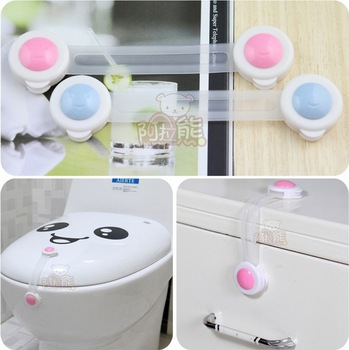 Long design baby safety lock infant door/drawer/furniture/refrigerator/cabinet/toilet safe lock,baby finger protector 20pcs/lot