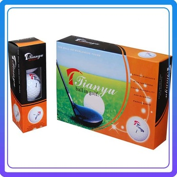 Golf Ball Double Layer Ball  Exercise Ball Exercise Ball Gift Box 12/Set
