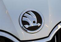 Skoda emblem 4s refires octavia fabia superb emblem free shipping