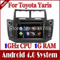Android 4.0 Auto PC Car DVD Player for Toyota Yaris 2005-2011 w/ GPS Navigation Stereo Radio Bluetooth TV USB 3G WIFI Multimedia