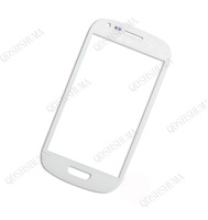 Free shipping Replacement  black blue white RED Front Outer Glass Lens Screen For Samsung Galaxy S3 III MINI I8190