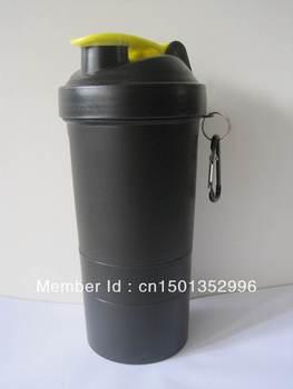 2013 NEW BPA Free  3 in 1 Protein Powder Shaker Bottle