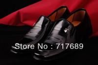 Free Shipping Fashion men's shoes Spring 2013 new men's genuine business suits men's leather shoes men's shoes